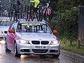 Service cars, Womens Olympic road race, Richmond (7669904606).jpg