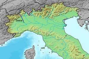 Sesia - Image: Sesialocation