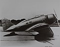 Seversky P-35 Photo of a SEV-3XAR (X-2106) in land plane configuration (16310667606).jpg