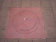 Gwiazda Shatnera w Hollywood.