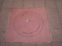 William Shatner's star on the Canadian Walk of Fame.