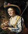 Shepherdess with Doves by Gerard van Honthorst Centraal Museum 6499.jpg
