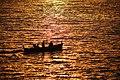 Ship in the golden sea - Kund Malir Beach Balochistan.jpg