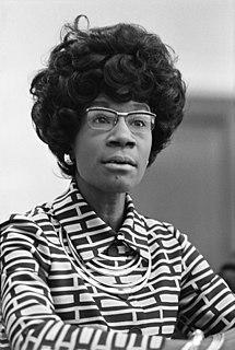 Shirley Chisholm American politician