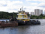 Shlyuzovoy-133 on Khimki Reservoir 18-jul-2012 02.JPG