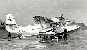 Short Sealand - Image: Short Sealand G AIVX at Stretton