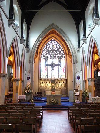 Shrewsbury Cathedral - The interior of Shrewsbury Cathedral.