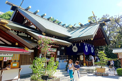 Shrine, Tokyo Daijingu - Chiyoda, Tokyo, Japan - DSC04748