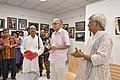 Shyamal Kumar Sen Unveiling 43rd PAD Group Exhibition Pulication - Kolkata 2017-06-20 0232.JPG