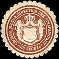 Siegelmarke Grossherzoglich Oldenburger Direction der Strafanstalt zu Vechta W0221692.jpg