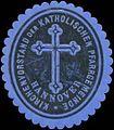 Siegelmarke Kirchenvorstand der Katholischen Pfarrgemeinde Hannover W0332984.jpg