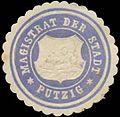 Siegelmarke Magistrat der Stadt Putzig-Pommern W0392402.jpg
