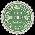 Siegelmarke Marktsgemeinde-Verwaltung Hutthurm W0354630.jpg