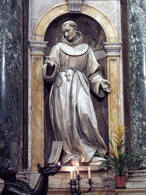 Bernardino of Siena - St Bernardine, Capella del Voto, Siena