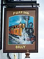 Sign for the Puffing Billy - geograph.org.uk - 1400440.jpg