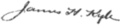 Signature of James Henderson Kyle (1854–1901).png