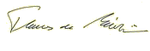 Signature of Thomas de Maizière.png