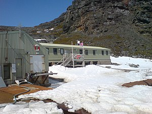 Signy Research Station in 2006