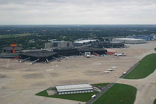 international airport serving Hanover, Germany