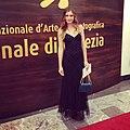 Silvia Busuioc Venice Film Festival 2013.JPG