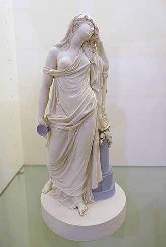 Biscuit porcelain - Image: Simposiasta, Real Fabrica del Buen Retiro, Madrid, 1784 1803 AD Museo Nacional de Artes Decorativas Madrid, Spain DSC08406
