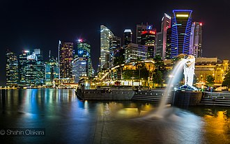 Four Asian Tigers - Image: Singapore Marina