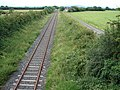 Single Track towards Antrim - geograph.org.uk - 504081.jpg