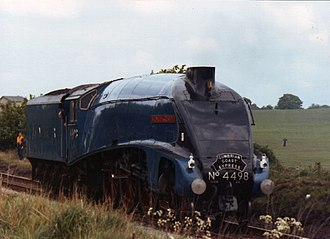 LNER Class A4 4498 Sir Nigel Gresley - Image: Sir Nigel Gresley