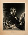 Sir Richard Quain. Mezzotint by T. O. Barlow, 1882, after D. Wellcome V0006599.jpg