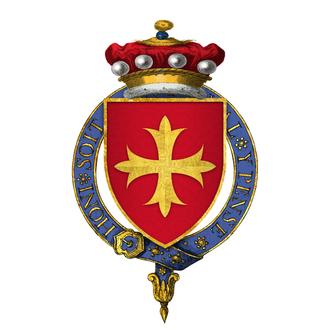 William Latimer, 4th Baron Latimer - Arms of Sir William Latimer, 4th Baron Latimer, KG