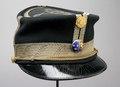 Skärmmössa till uniform modell 1865 - Livrustkammaren - 31056.tif