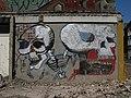 Skeleton Grafitti on a Wall in Antwerp - panoramio.jpg