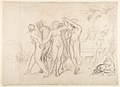 Sketch for the Judgment of Solomon (?); verso- Dancing Mythological Figures MET DP814119.jpg