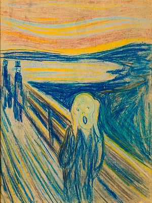 The Scream - Image: Skrik 1893