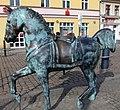 Skulptur Schloßplatz (Köpen) Wilde Pferde&Inges Idee&20082.jpg