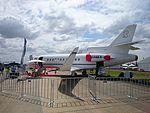Sleepyhead Manufacturing (N146EX) Dassault Falcon 900EX on display at the 2015 Australian International Airshow.jpg
