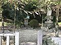 Small shrine and stele near Chiriku Hachiman Shrine.jpg