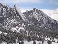 Snow-covered Flatirons from NCAR - panoramio.jpg