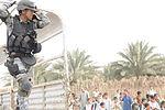 Soldiers, Iraqi national policemen distribute school supplies in Baghdad DVIDS157266.jpg