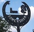 Somersham village sign - geograph.org.uk - 967940.jpg