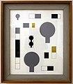 Sophie taeuber-arp, composizione con cerchi a mano e rettangoli, 1930.JPG