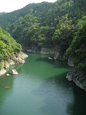Hida-Kisogawa Quasi-National Park - Image: Sosuikyo