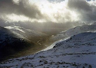 Glen Lochay - Image: Southwest Glen Lochay(wfmillar)Feb 1998