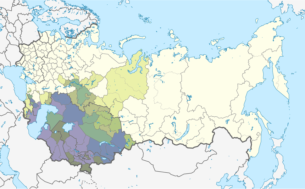 Soviet Union Muslim Population 1979 (full)