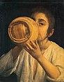 Spanish School - A Boy Drinking from a Flask, c.1650–1675.jpg