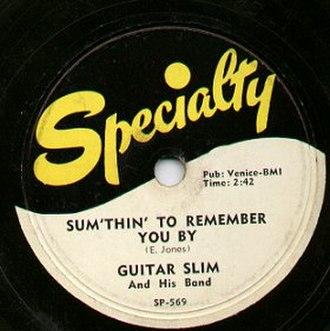 Specialty Records - Image: Specialty Record