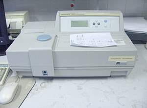 Spectrophotometry - Table top spectrophotometer