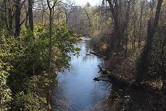 Spencer Creek (Ontario) - Spencer Creek in Spencer Gorge Conservation Area