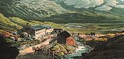 Splügenpass um 1810