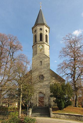 Iggingen - St.-Martinus-Church Iggingen